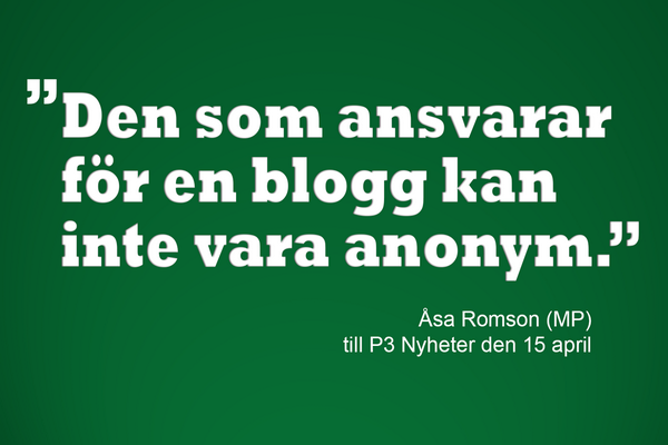 MP blogg anonymt