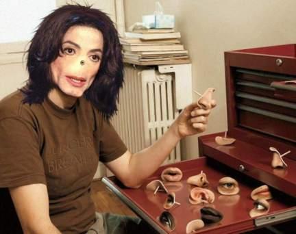 Michael Jackson hade inte näsa för affärer.