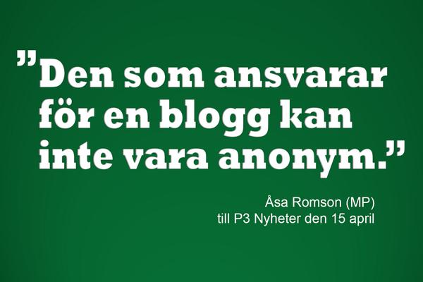 MP blogg anonymt