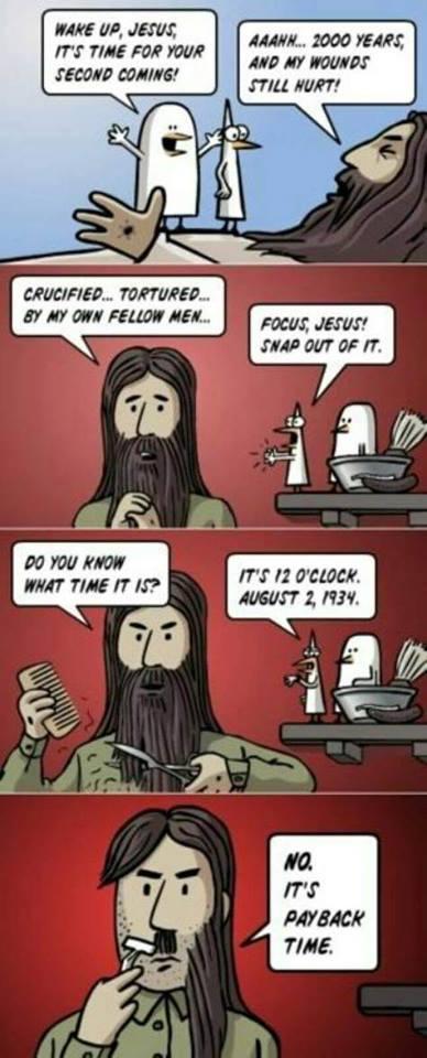Jesus är Hitler