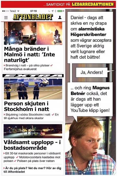 Aftonbladets dubbelmoral fortsätter. Skön satir om hur PK-maffian verklighetsförnekar.