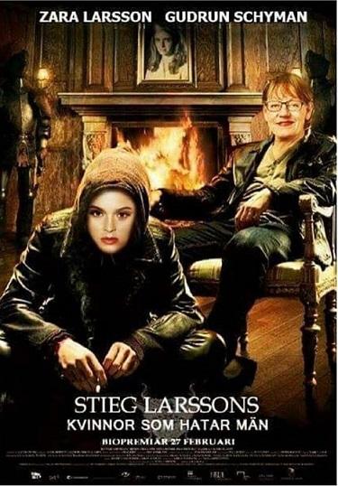 Kvinnor som hatar män. En biofilm som nog bygger på bok av kommunisten och PK-grisen Stieg Larsson.