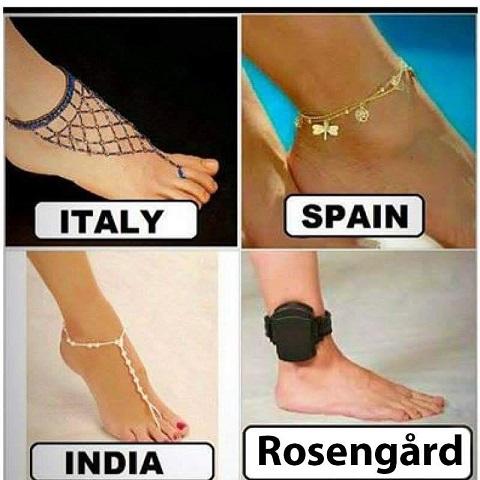Alla har vi våra olika kulturer. Om du kritiserar denna humorbild är du rasist!