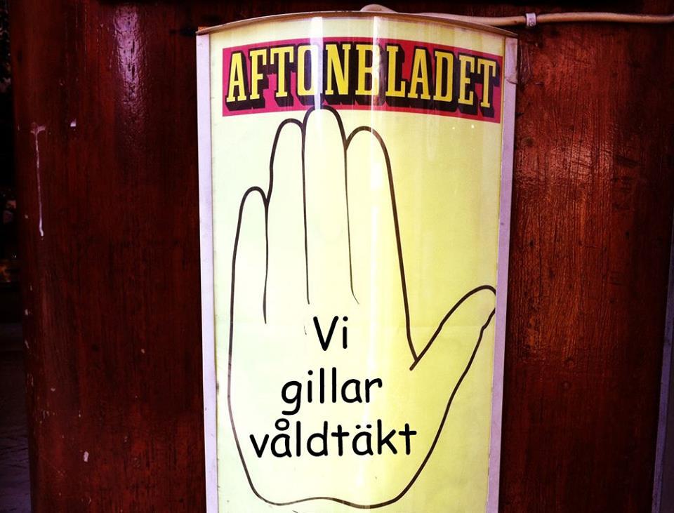Nej, Aftonbladet gillar inte våldtäkt, men de tar inte ens avstånd från våldtäktskulturen bland deras ledarskribenter.