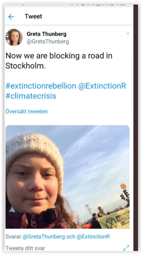 Greta Thubergs saboterar