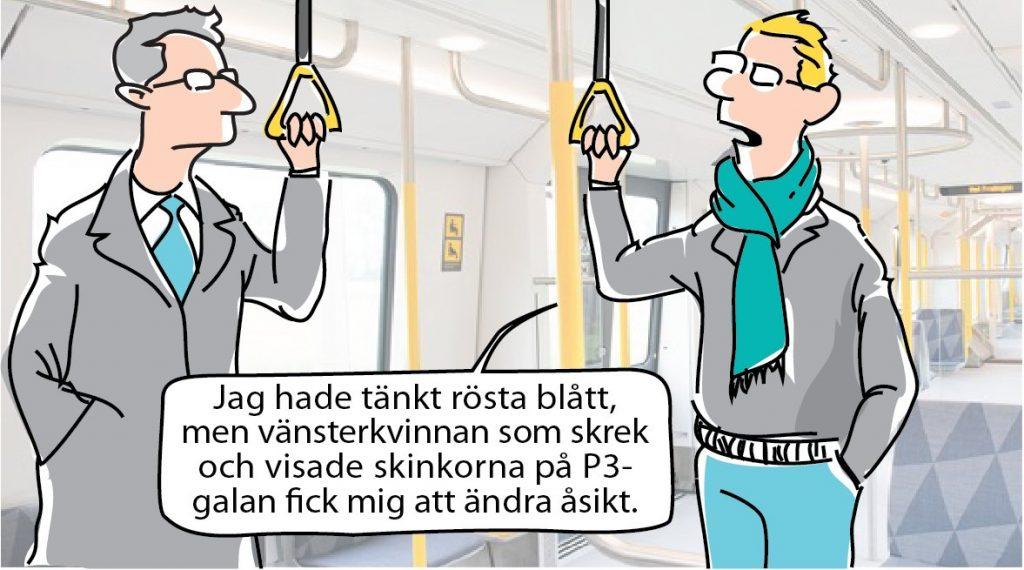 """Matilda """"Mattis"""" Årestad visar rövfläsket"""