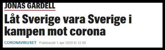 Jonas Gardell låter som en nationalist.