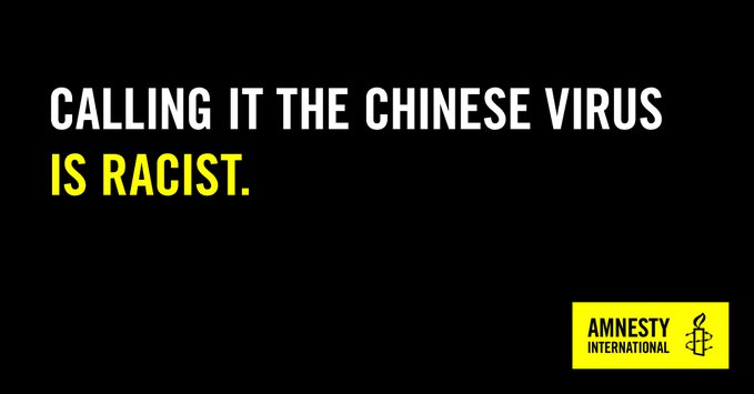 Kina-viruset eller Wuhan-viruset