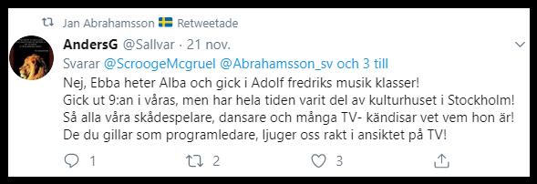 Nu har ondskan spridit sig till Sverige i form av att förneka terrordådet på Drottninggatan 2017.
